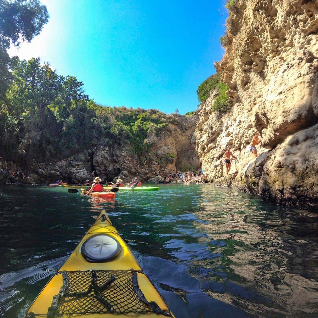 Sorrento Queen Johanna kayak tour
