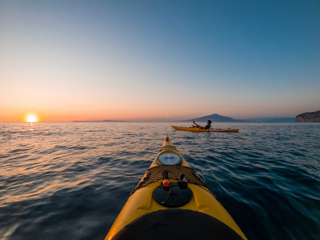Golden hour kayak tour